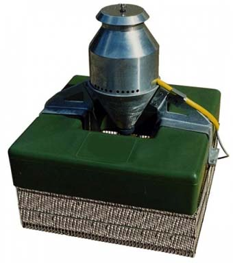 Propeller Aerator with overwater motor
