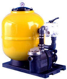 Sandfilter with pump
