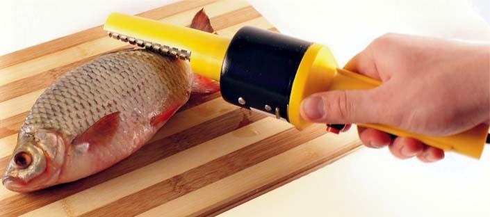 Elektrisches Fischschuppgerät