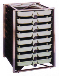 Vertical-Incubator with 8 trays